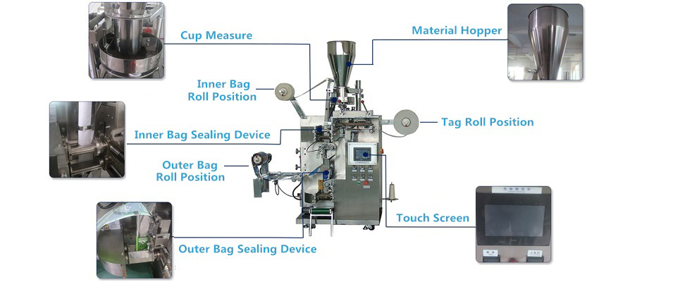 Inner and Outer bag Packing Machine