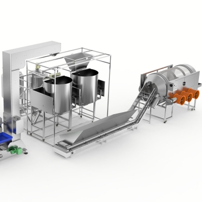 Popcorn Machine and Caramelizer Production line