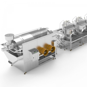 Popcorn Production and Coating Line